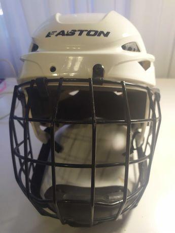 Хоккейный шлем для ребёнка, размер М, EASTON, белый. Из США.
