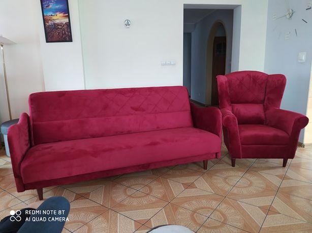Zestaw Fotel+Kanapa Różne Kolory +DOSTAWA