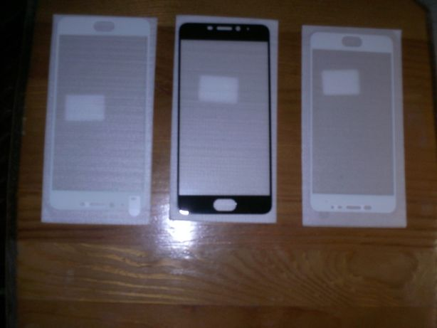 стекло full Glue Mеizu M5 Note Blak\white\ , M5s White