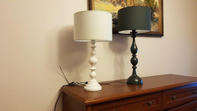 Lampki, biurkowe, stołowe drewniane