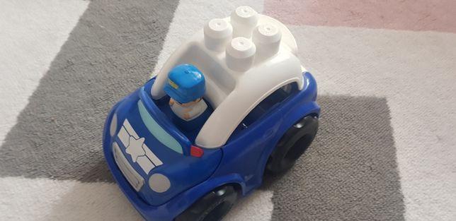 Samochodzik dla dziecka Biało niebieski