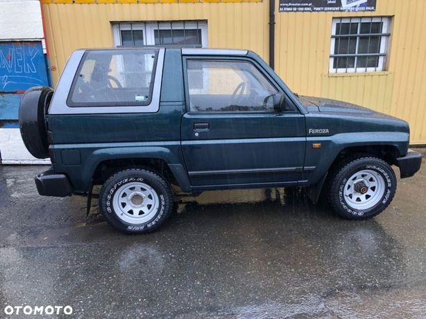 Daihatsu Feroza  1 Właściciel  114 Tys.Km  Sprawdź   Opłacony