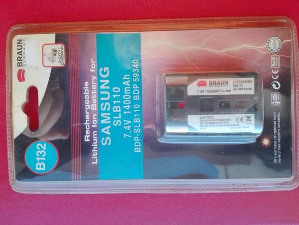 Bateria Braun/ Samsung SLB 110 - Nova !!!