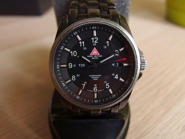 Swiss Military Watch SMW T25.15.44 field traser ball vostok tryt H3 T2