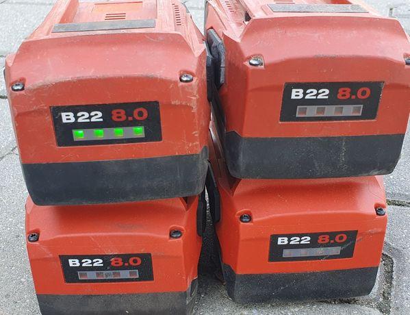 Bateria Hilti B22 8.0 AH LI-ION CPC AG 125 SF6 bateria akumulator