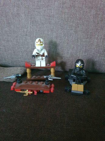 Lego Ninjago Cole Zane pierwsza seria małe zestawy
