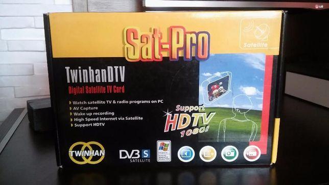 Karta PCI TwinHan DTV Sat+pilot