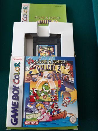 "Jogo para Game Boy Color ""Game & Watch Gallery 2"""