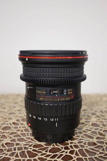 Tokina AT-X 11-16 F2.8 PRO DX V do Canon