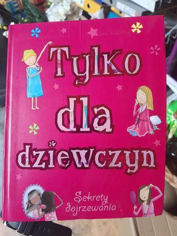 Książka tylko dla dziewczyn nastolatek