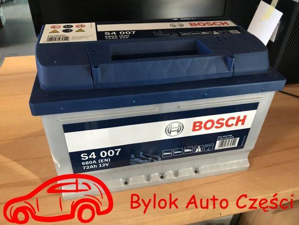 """AKUMULATOR 72AH/680A """"Bosch"""" NOWY!!! Bylok Auto Części Gliwice Zabrze"""