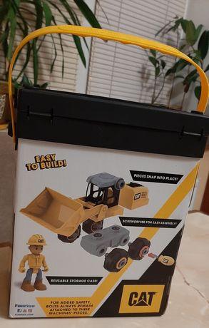 Конструктор трактор бульдозер забавка для хлопчиків 3+