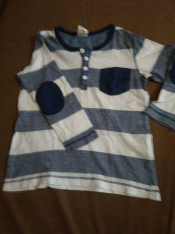 chłopięce ubranka, r.80/86 body, bluza, polar, koszula, spodnie od 1zł