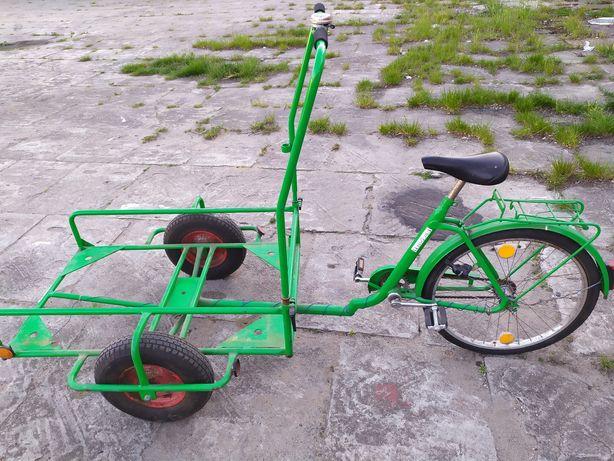 Sprzedam rower riksza okazja !