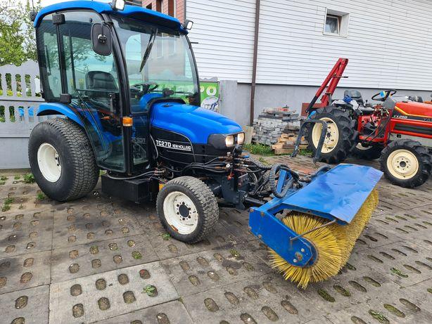 Mini traktor New Holland,ogrodniczy,komunalny,zamiatarka gratis!