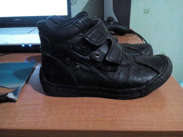 ботинки кожаные детские