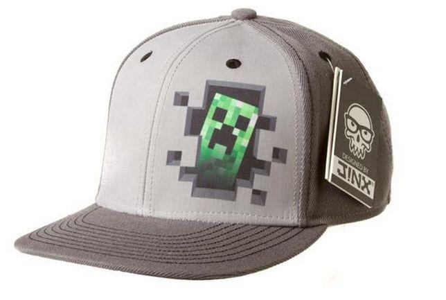 Czapka Minecraft Majncraft NOWA z daszkiem DIAMOND UNIKAT ostatnia
