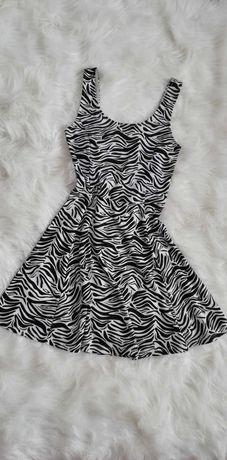 Sukienka H&M zebra