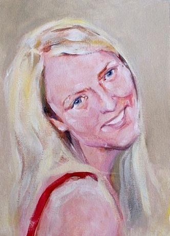 Portret pozowany lub ze zdjęcia, obraz na ścianę, prezent
