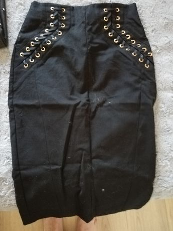 Czarna spódnica AMISU