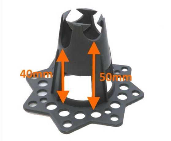 Podkładki dystansowe pod zbrojenie - styropian/piasek