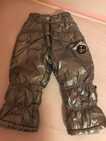 Spodnie na śnieg śniegowce r. 92
