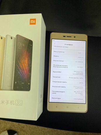 Смартфон Xiaomi Redmi 3S  Gold   16GB