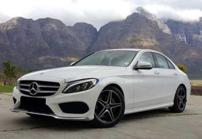 Mercedes c klasa W205 wynajem wynajmę wypożyczalnia Auto na wesele.