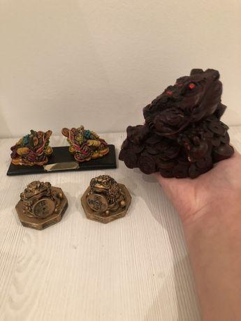Sapo Feng Shui-Decoração e sorte