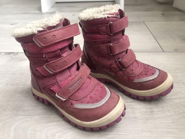 Ботинки детские зимние кожа