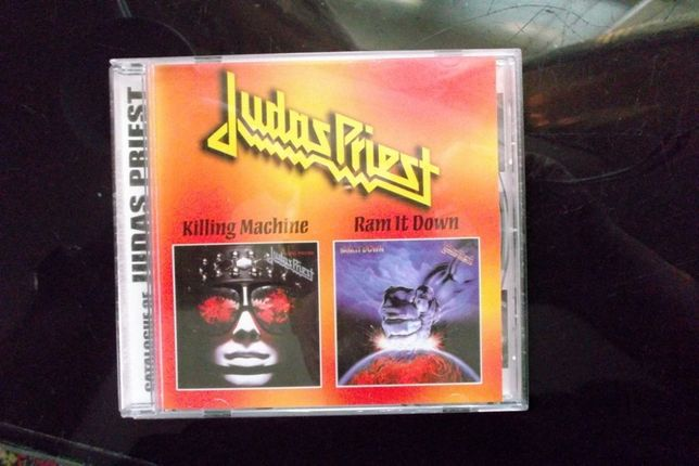 CD Judas Priest. Killing Macine/Ram It Down