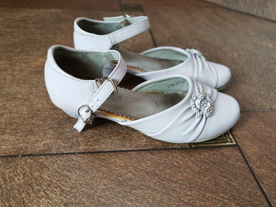 Buty do komunii białe rozmiar 31