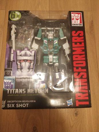 Transformes Titans Return SIX SHOT
