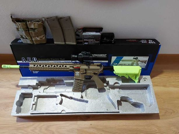 Conjunto M4 (CM16 R8-L DST) G&G ARMAMENT Semi-Nova