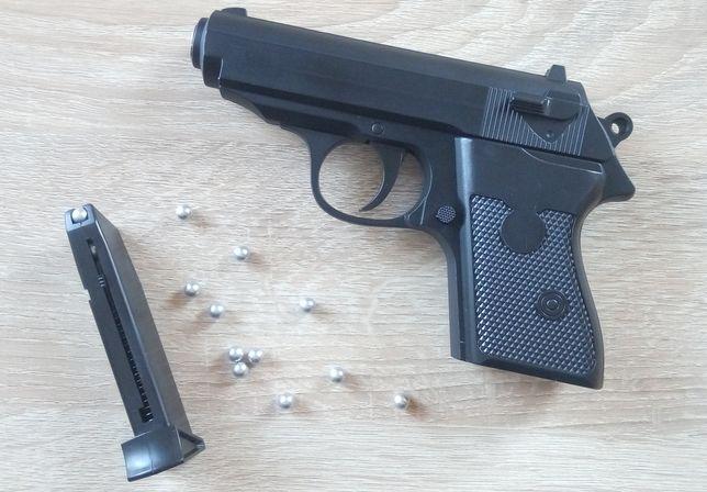 Страйкбольный пистолет Walther PPK, металл. Не ПМ Макаров. Страйкбол