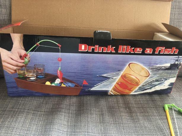 """NOWA Gra na imprezy """"drink like fish"""" (pij jak ryba)"""