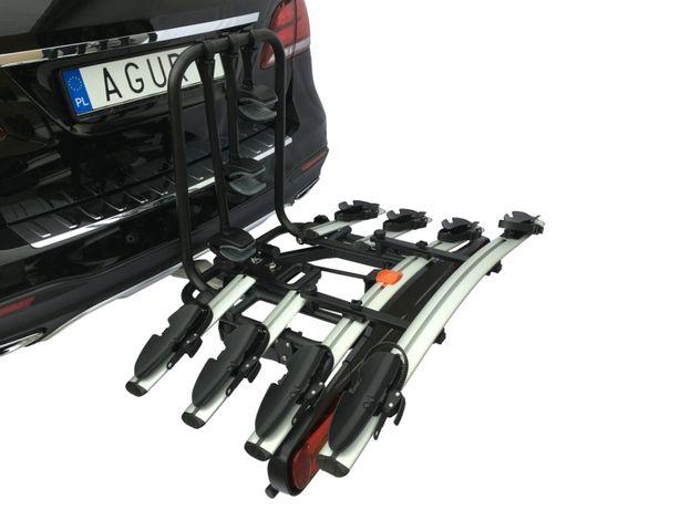 Platforma Row. Hak Active Bike 3/4 HIT Silver - AGURI Bagażnik