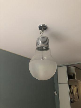 Люстра светильник в форме лампочки