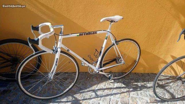 Bicicleta de competição vintage