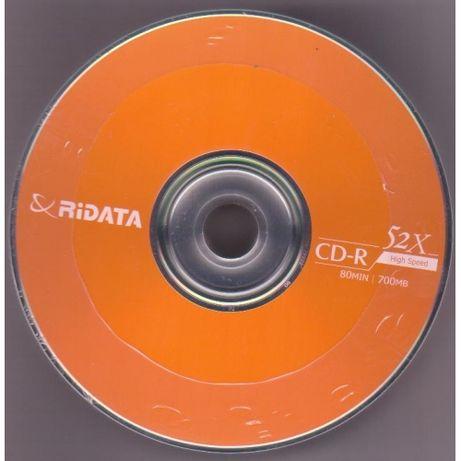 Диски Ridata CD-R 700Mb 52x bulk 25 pcs