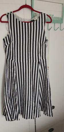 Nowa sukienka len r.12