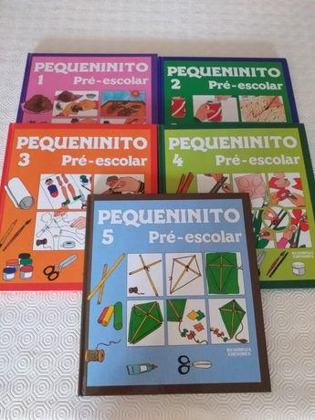 """Coleção Livros """"Pequeninito""""- Pré-Escolar"""