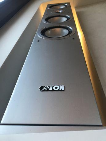 CANTON CHRONO 509 DC srebrne kolumny podłogowe