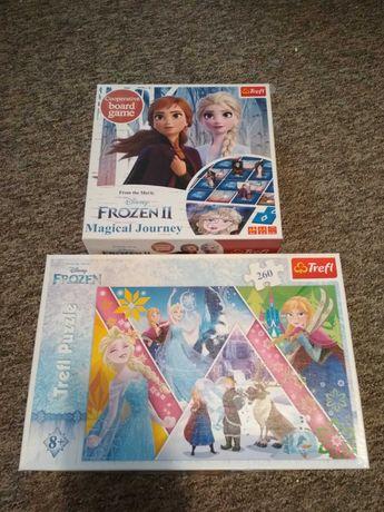 Kraina lodu Elsa - gra i puzzle