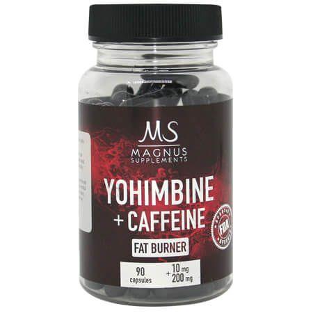 Magnus Yohimbine Caffeine 90caps Libido Spalacz