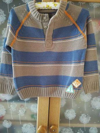 Sweterek chłopięcy Cocodrillo, rozm. 110cm.