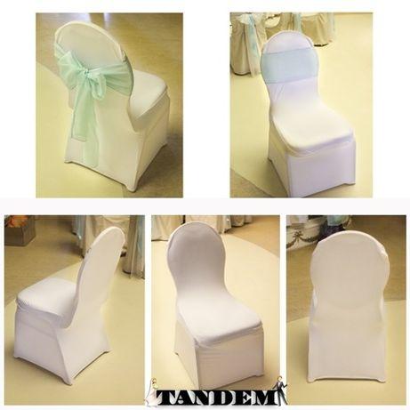 Чехлы на стулья, банты - аренда