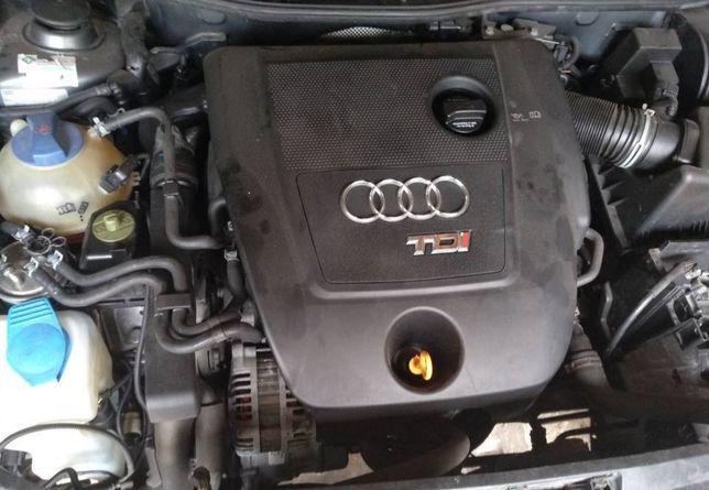Silnik kompletny  1.9 TDI 130 ASZ a3, golf 4, Sharan