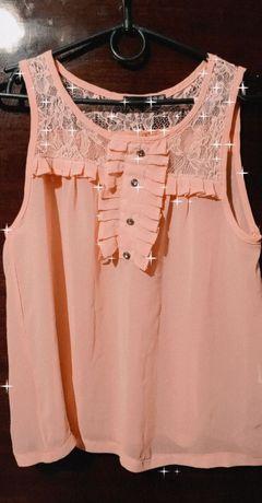 Летняя прозрачная блузка.