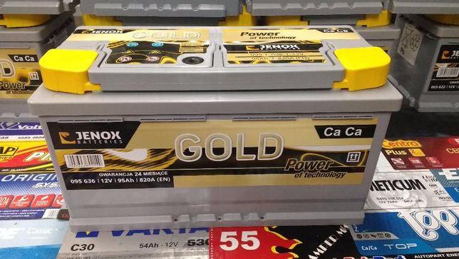 Akumulator Jenox Gold 95Ah 820A Kraków Azory Dowóz Montaż Diagnostyka